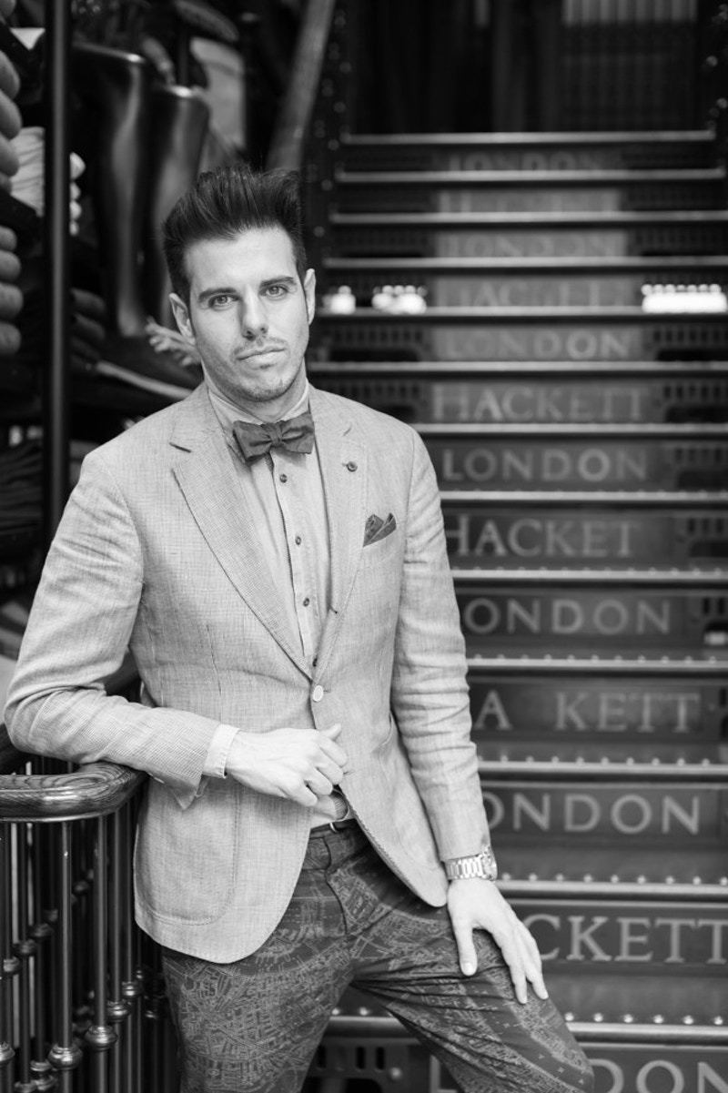Hackett Of London Regent Street London - Rajesh Taylor | St James's & Mayfair London Photographer