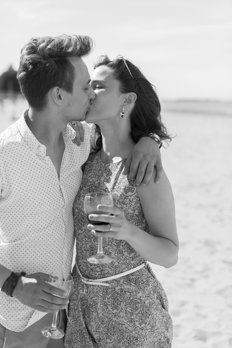 Barbara Krystian Ryde Beach Wedding Proposal Isle Of Wight - Rajesh Taylor | St James's & Mayfair London Photographer