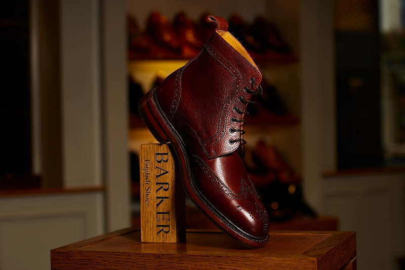 Barker Shoes Jermyn Street London - Rajesh Taylor | Mayfair & St James's of London Family Photographer