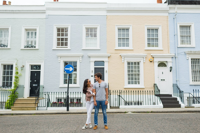 Bernado Maria Notting Hill London Vacation - Rajesh Taylor | Mayfair & St James's of London Family Photographer