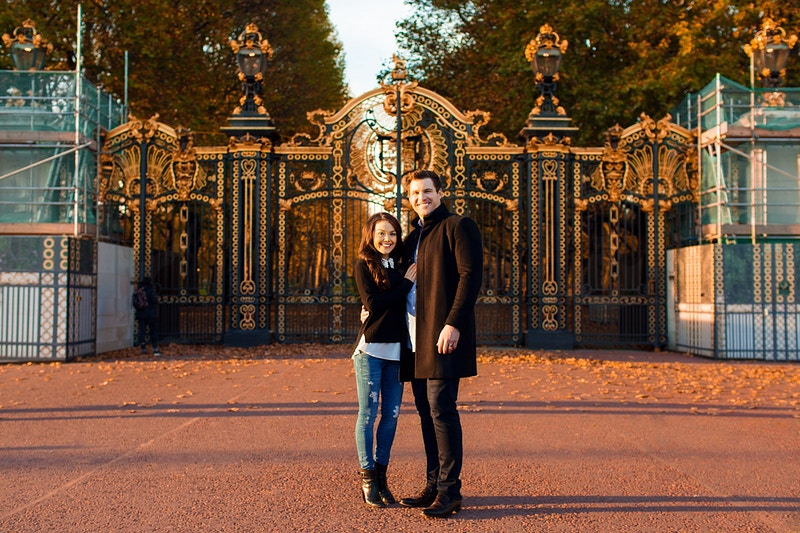 Brittany Nate Admiralty Building St Jamess Park And Buckingham Palace Vacation - Rajesh Taylor | Mayfair & St James's of London Corporate and Family Photographer