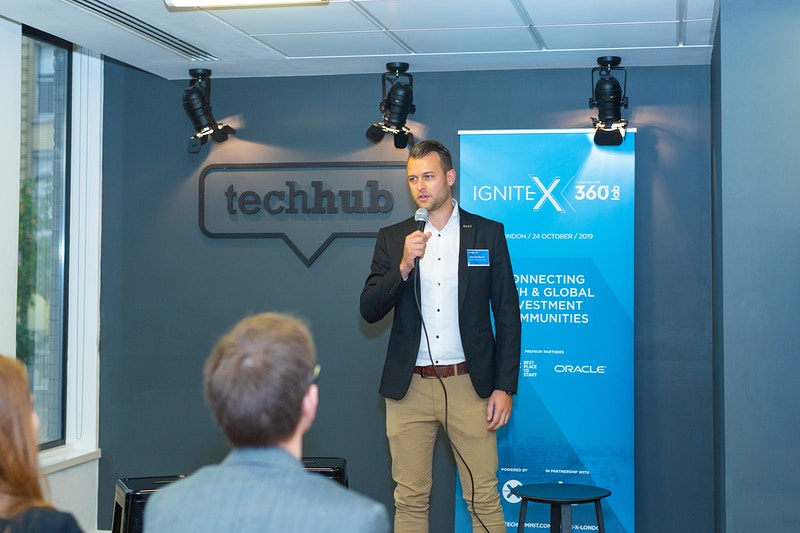 Ignite X London Techhub Shoreditch - Rajesh Taylor | Mayfair & St James's of London Corporate and Family Photographer