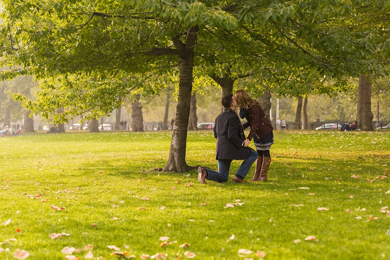 Michael Lyndsay St James Park Wedding Proposal Mayfair London - Rajesh Taylor | Mayfair & St James's of London Family Photographer