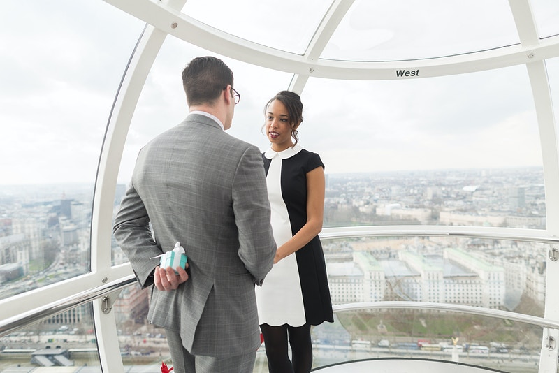 David Nicole London Eye Wedding Proposal - Rajesh Taylor | Mayfair & St James's of London Corporate and Family Photographer