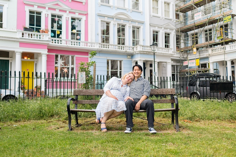 Sarah Jodie Baby George Primrose Hill And Regents Park London Family Vacation - Rajesh Taylor | Mayfair & St James's of London Family Photographer
