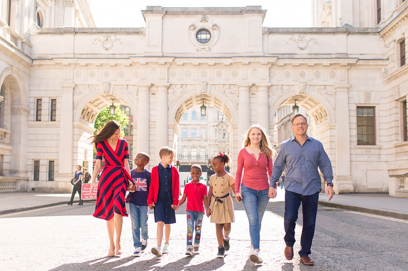 The Boyce Family Big Ben The Houses Of Parliament And Westminster Bridge Family Vacation - Rajesh Taylor | St James's & Mayfair London Photographer