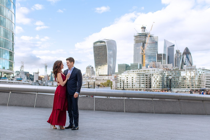 Andrew Taneal Tower Bridge St Katherines Dock And Trinity Square Gardens Tower Hill - Rajesh Taylor | Mayfair & St James's of London Family Photographer