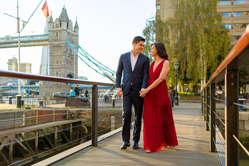 Andrew Taneal Tower Bridge St Katherines Dock And Trinity Square Gardens Tower Hill - Rajesh Taylor | Mayfair & St James's of London Corporate and Family Photographer