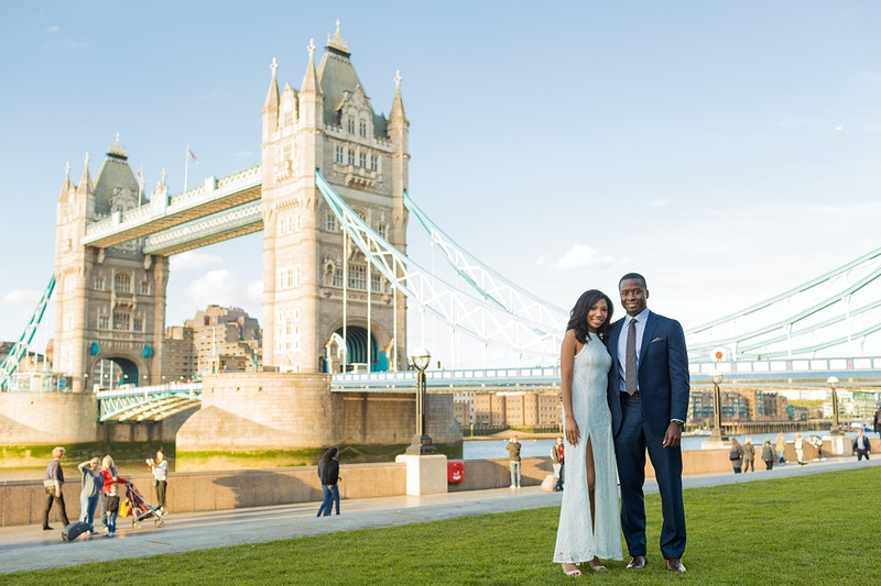 Lindsay Von Tower Bridge London Wedding Proposal - Rajesh Taylor | Mayfair & St James's of London Family Photographer
