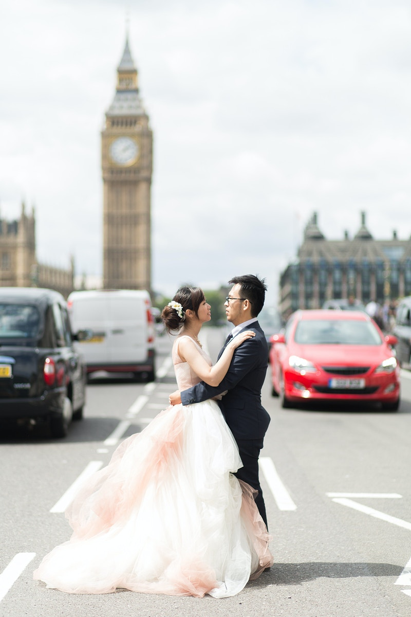 Elthea Mickey Westminster And The Natural History Museum Pre Wedding London - Rajesh Taylor | Mayfair & St James's of London Corporate and Family Photographer