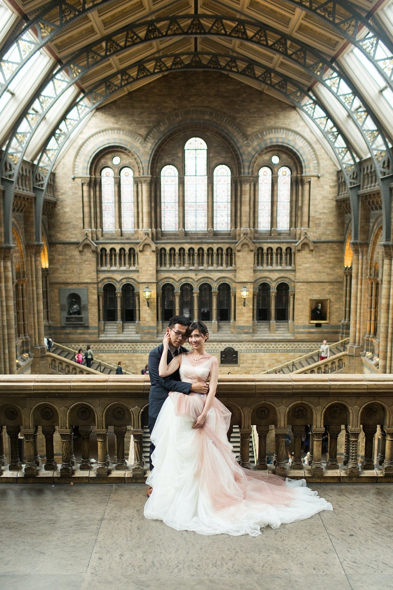 Elthea Mickey Westminster And The Natural History Museum Pre Wedding London - Rajesh Taylor | St James's & Mayfair London Photographer
