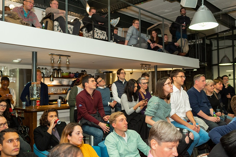 Techhub London Demo Night Balderton Capital The Stables Clerkenwell - Rajesh Taylor | Mayfair & St James's of London Family Photographer