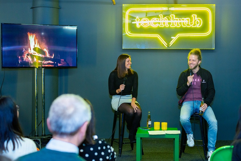 Techhub London Fireside Chat With Joshua Slayton Founding Cto Of Angellist And Founder Of Coinlist - Rajesh Taylor | Mayfair & St James's of London Family Photographer