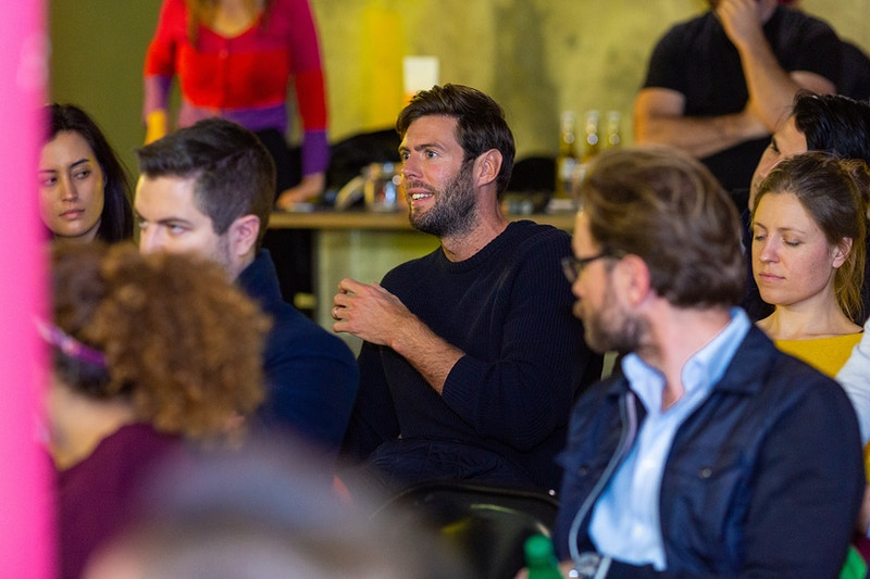 Techhub London Fireside Chat With Joshua Slayton Founding Cto Of Angellist And Founder Of Coinlist - Rajesh Taylor | Mayfair & St James's of London Corporate and Family Photographer