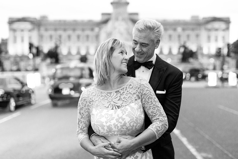 Janie Robert Westminster St James Park And Buckingham Palace London Wedding Anniversary - Rajesh Taylor | Mayfair & St James's of London Corporate and Family Photographer