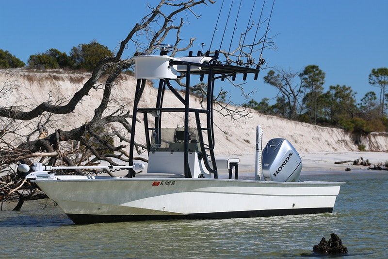 Boat And Gear - Panama City Beach Inshore Fishing Charters