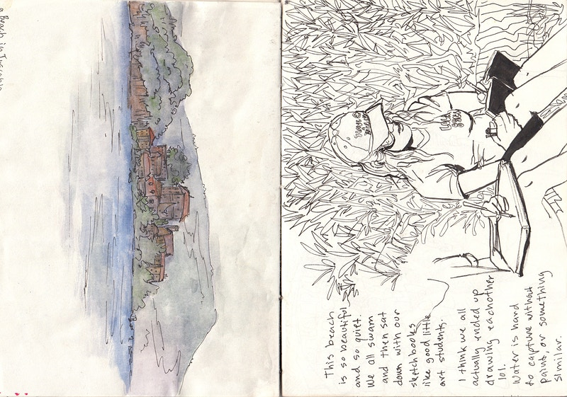 Viterbo Sketchbook 2018 - REILEY JOHNSON