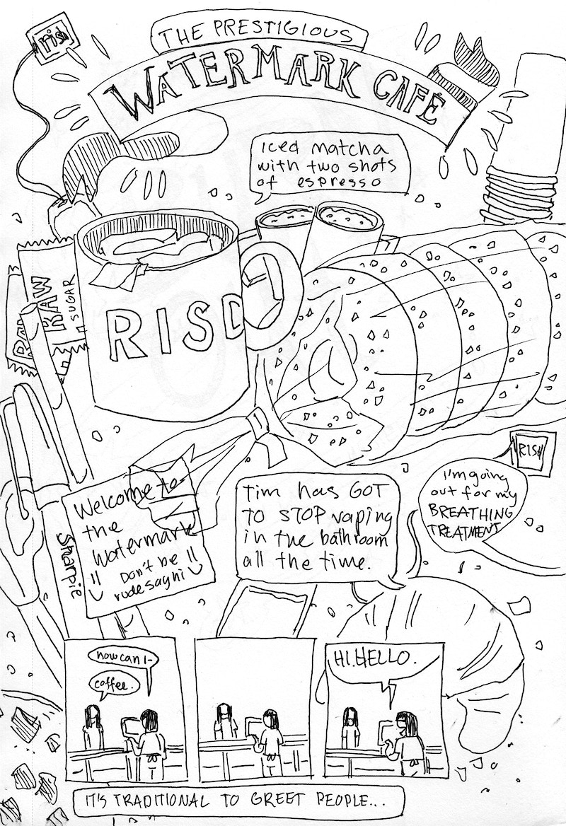 Risd Sketch Diary 2019 - REILEY JOHNSON