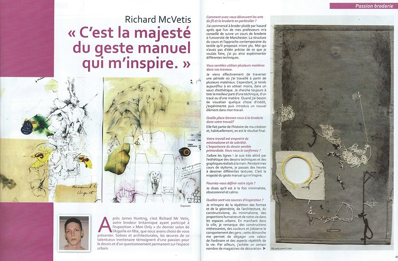 Main & Merveilles - Passion Broderie - Aug 2012 - Richard McVetis