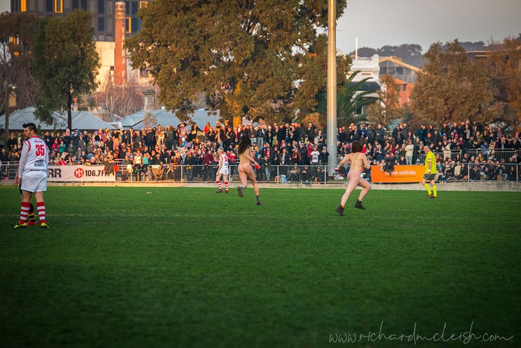 Reclink Community Cup - RICHARD McLEISH