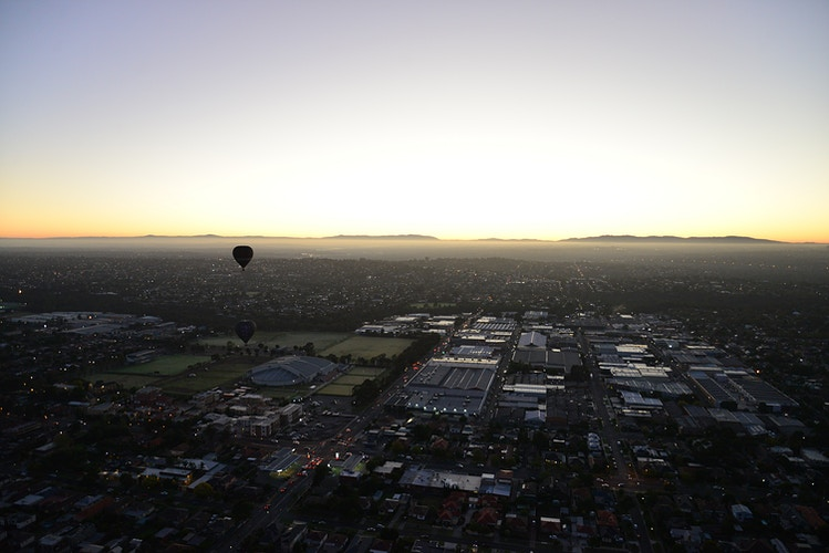 Hot Air Balloons Melbourne - RICHARD McLEISH