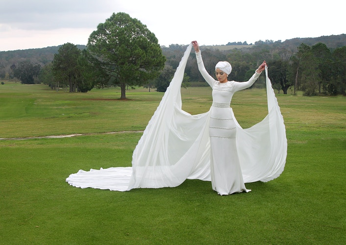 Modest Gowns And Hijabs - Ricky Lindsay Couture