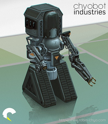 Mechs Vehicles Characters - robin chyo | portfolio
