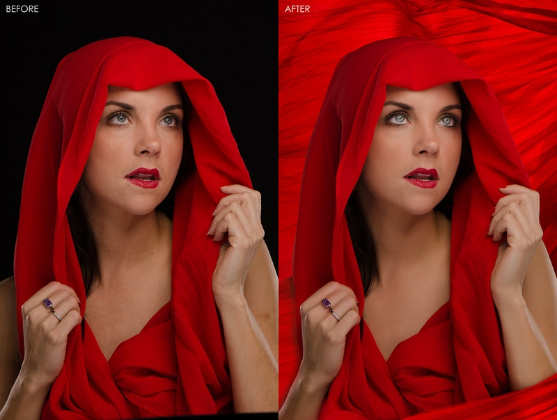 Retouching - Ronald Lee Studios
