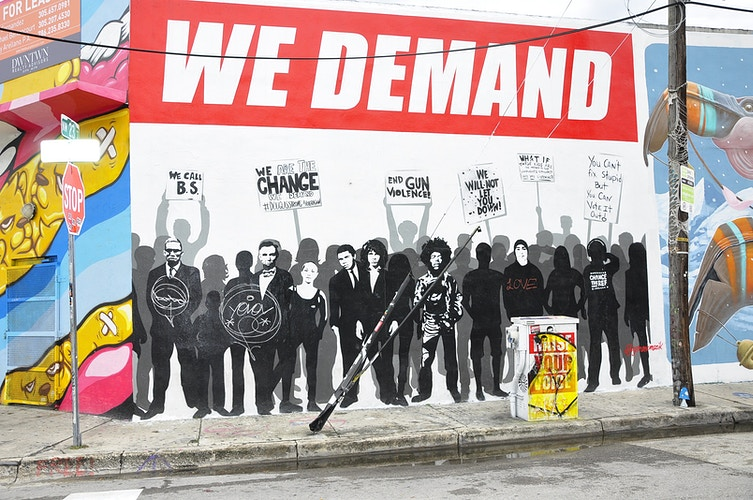Wall of Demand - Manuel Oliver Wynwood, Miami - Photography & Images by Ron Donofrio