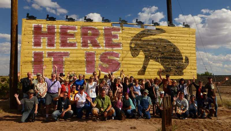 2012 Tin Can Caravan - Group Photo 5 - Roots on the Rails