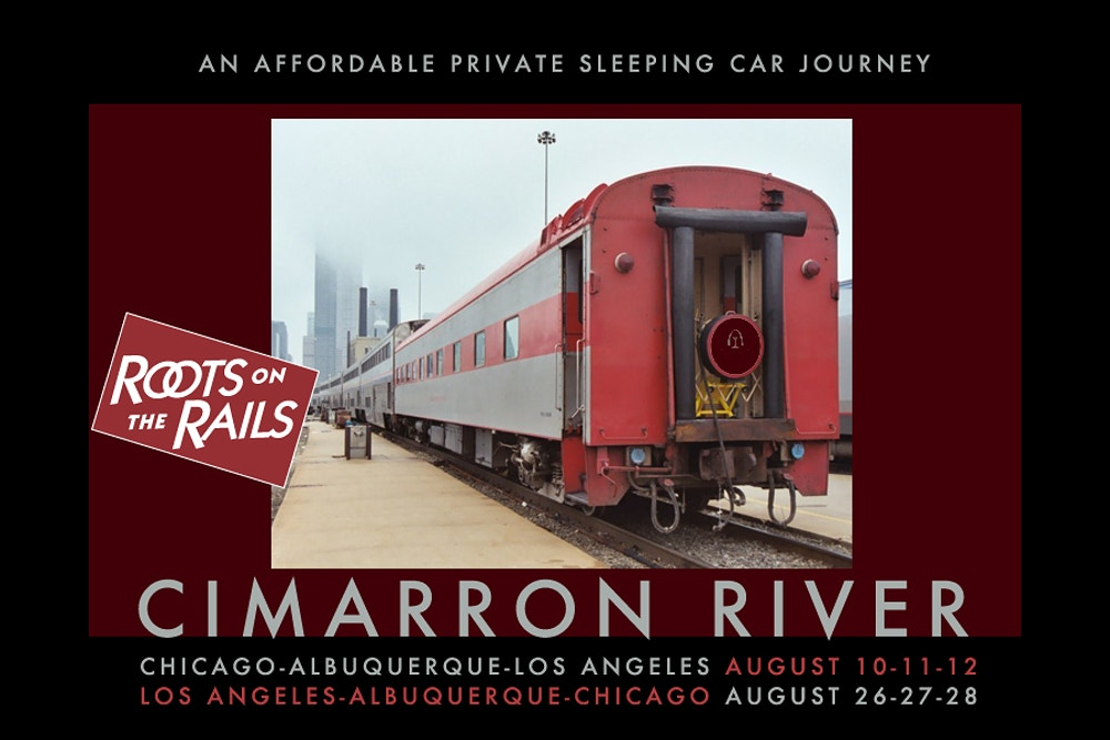 Upcoming Trips: Cimarron River Positioning Moves, August 2017 - Roots on the Rails