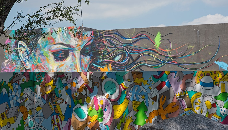 Double Takes At Wynwood - Roy Quesada photographer