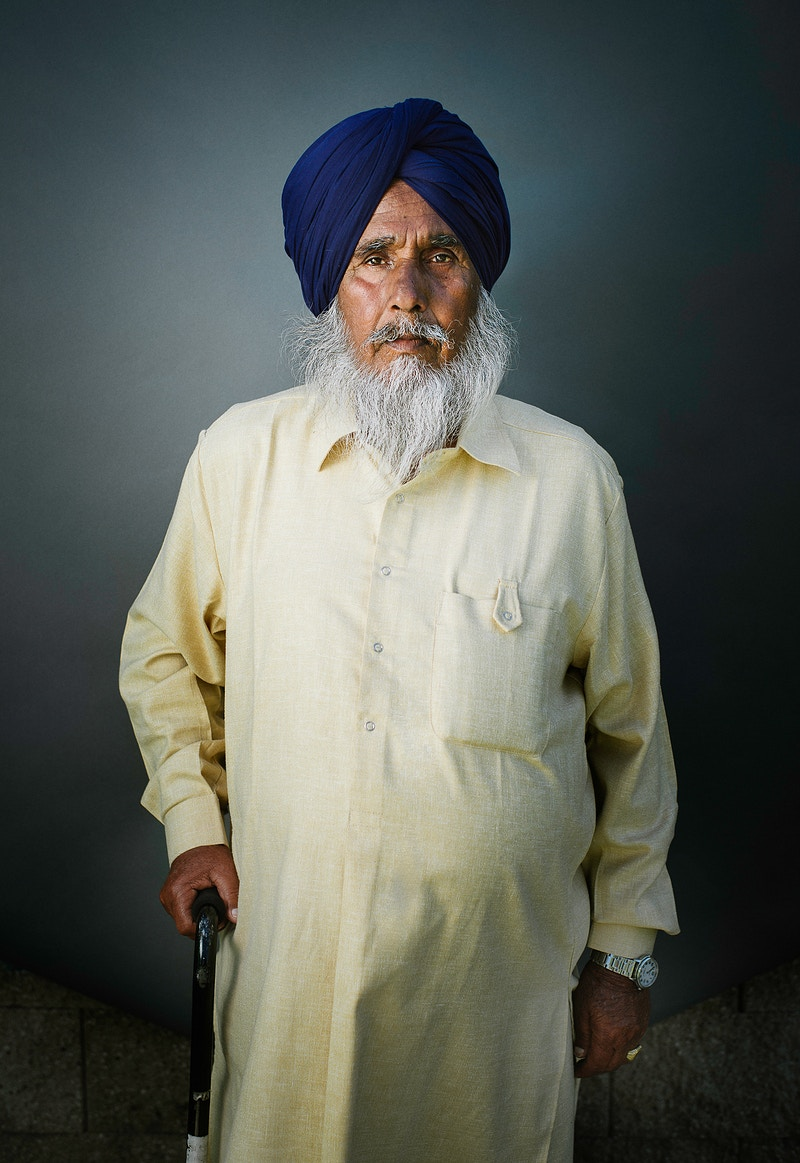 Sikh Men - RYAN ANGEL STUDIO