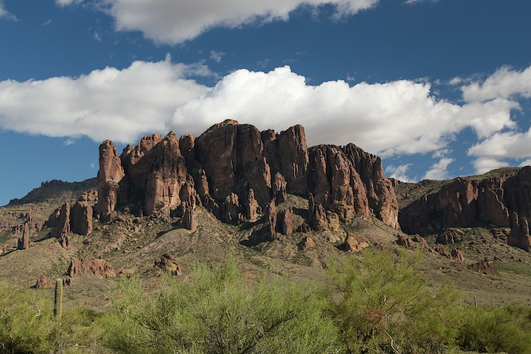 Superstition Mountain - Sam Foster Studios