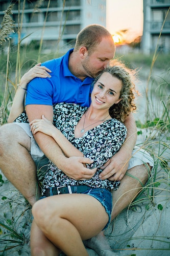 Sarah Jeff Wilmington Nc Engagement - Sarah Conely Photography
