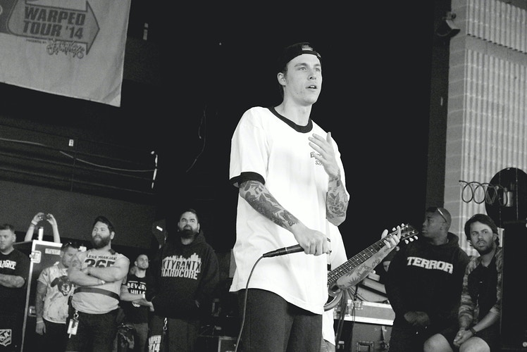 Parker Cannon of The Story So Far - Sasha Danielle Photography