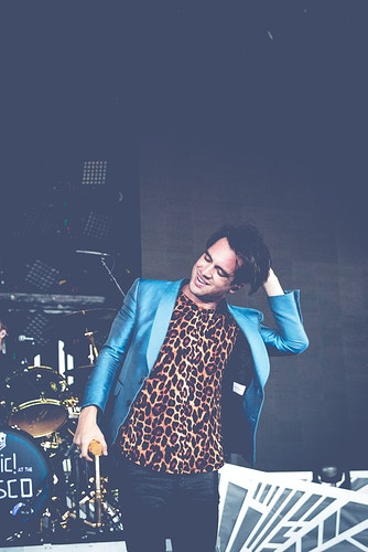 Brendon Urie of Panic! At The Disco at Summerfest - Sasha Danielle Photography