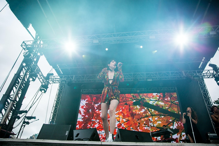Carly Rae Jepsen at Pitchfork Music Festival - Sasha Danielle Photography