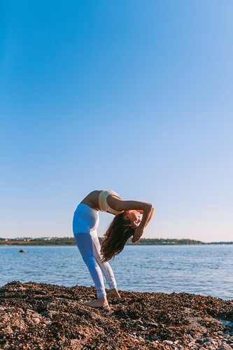 Alo Yoga - Creative Portrait Photographer :: Portland, Maine - Savannah Daras