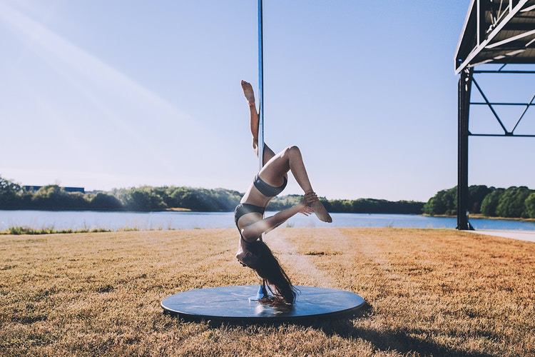 207 Pole Fitness - Creative Portrait Photographer :: Portland, Maine - Savannah Daras