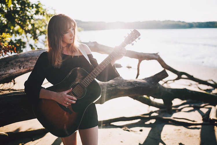Faith, Musician - Creative Portrait Photographer :: Portland, Maine - Savannah Daras