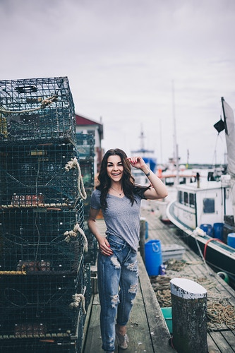 Taylor - Portland Harbor - Creative Portrait Photographer :: Portland, Maine - Savannah Daras