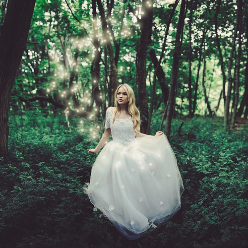 Magical forest fairy queen - Creative Portrait Photographer :: Portland, Maine - Savannah Daras