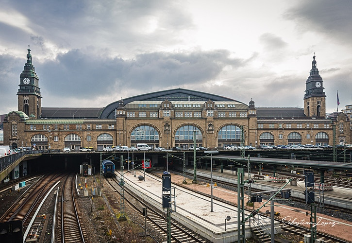 Hamburg Hauptbahnho — in Hamburg, Germany. - Sebastian Lopez Photography