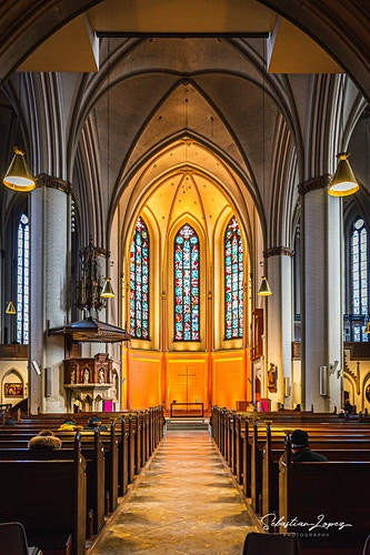 St. Peter's church main church of st petri — in Hamburg, Germany. - Sebastian Lopez Photography
