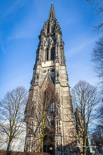 Church of St. Nicholas — in Hamburg, Germany. - Sebastian Lopez Photography