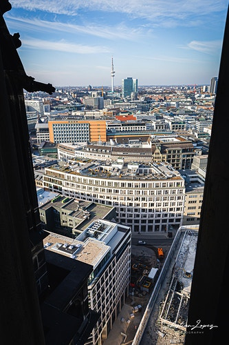 Town Hall from Church of St. Nicholas — in Hamburg, Germany. - Sebastian Lopez Photography