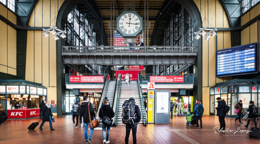 Hamburg Hauptbahnho — in Hamburg, Germany - Sebastian Lopez Photography