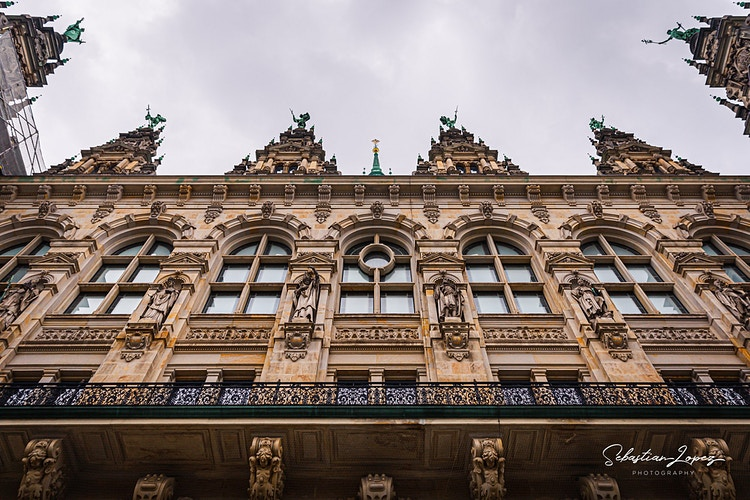 Inside Hamburg Townhall — in Hamburg, Germany. - Sebastian Lopez Photography