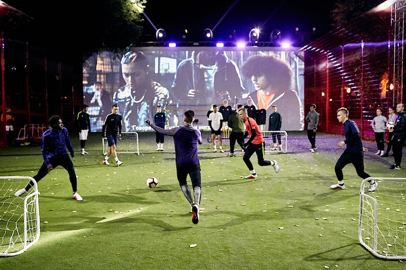 Nike Phantom Vsn Activation - Arseniy Golyshkin | photography | Moscow
